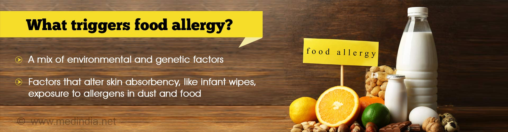 Sure-shot Recipe for Developing Food Allergies
