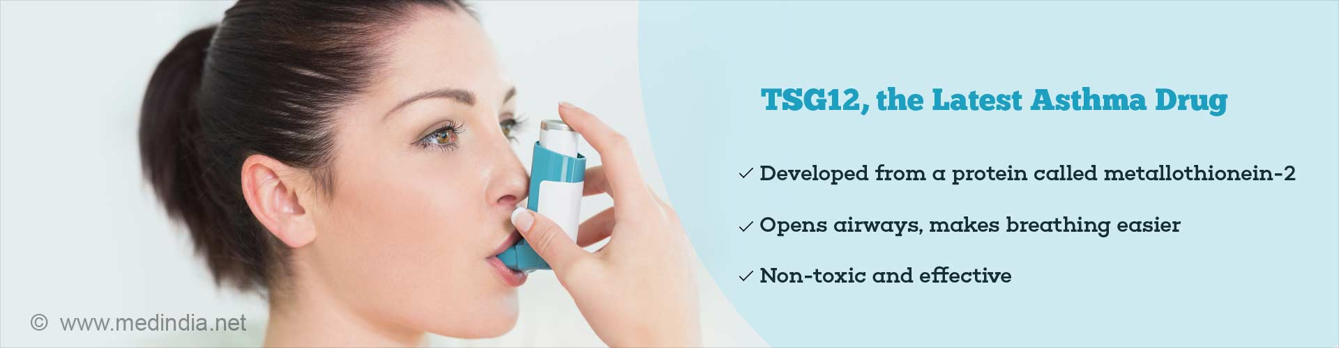TSG12, the latest asthma drug