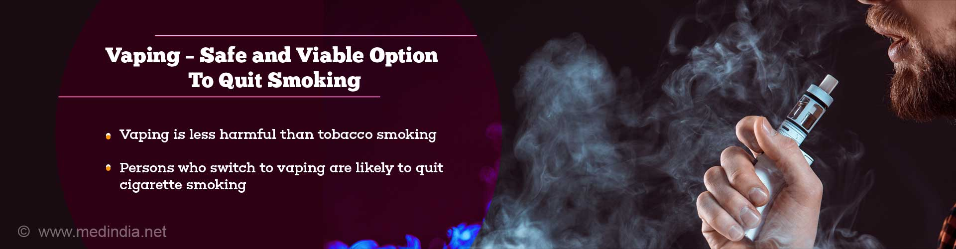 E-Cigarettes May Help Even Die Hard Smokers Kick the Habit