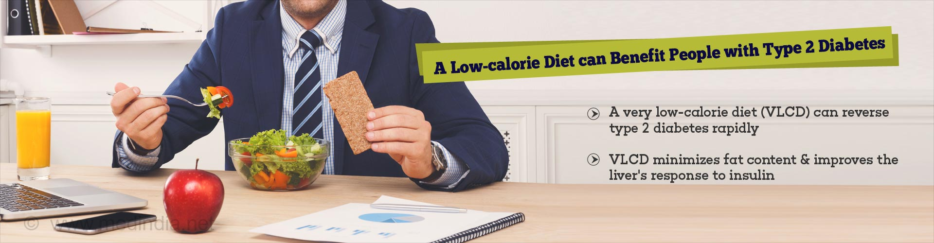 Very Low-calorie Diet can Reverse Type 2 Diabetes