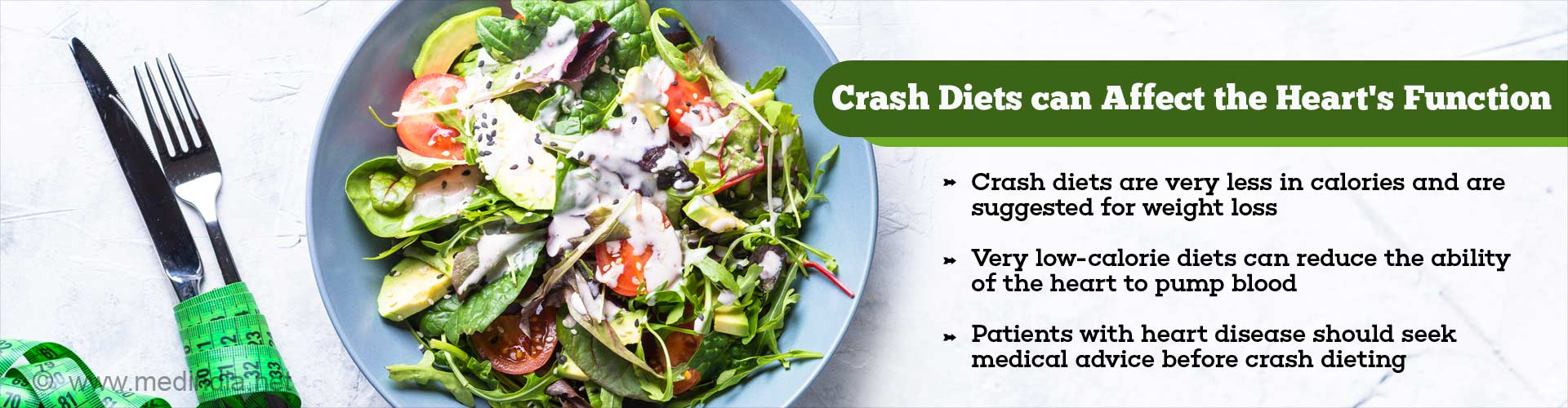 crash diets can affect the heart's function