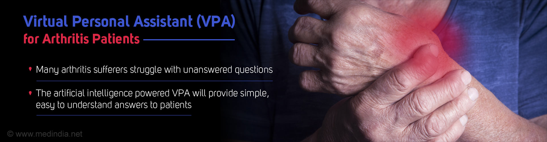 Virtual Personal Assistant (VPA) for Arthritis Patients