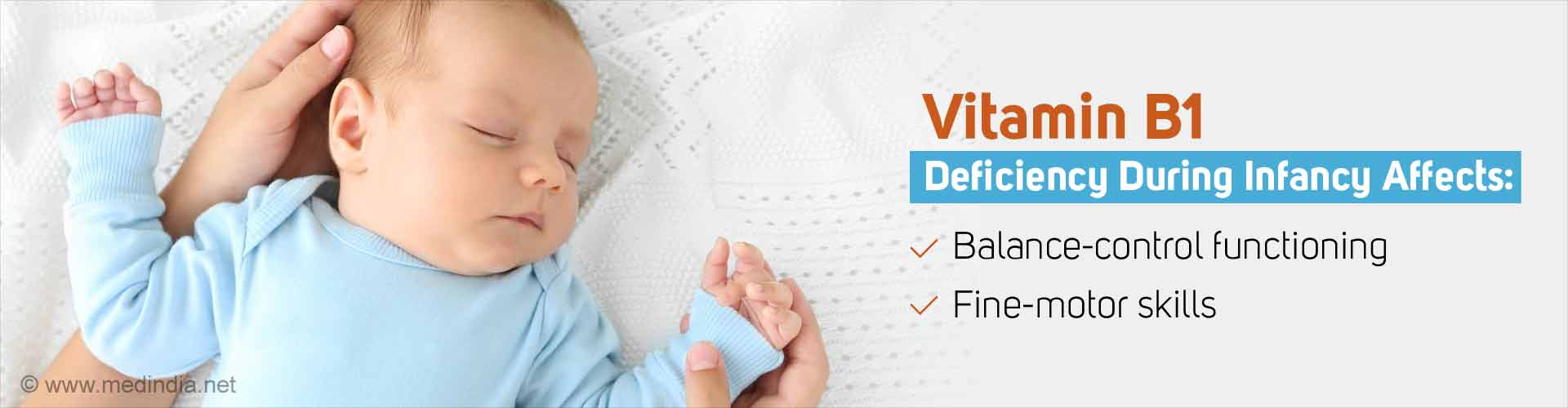Vitamin B1 Deficiency in Infancy Affects Childhood Motor Function