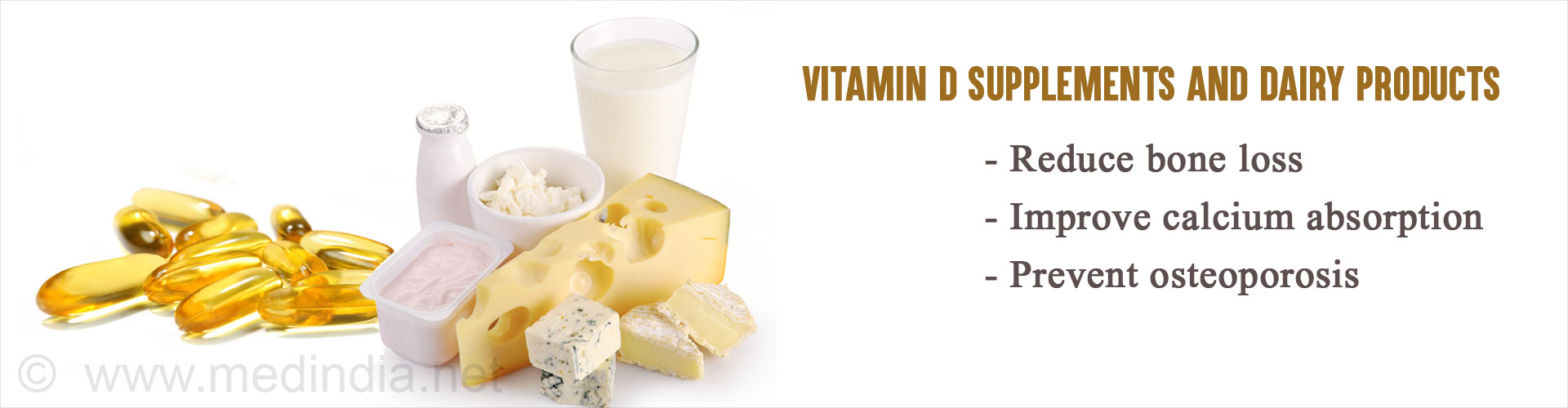 Dairy Products and Vitamin D Supplements Protect Against Osteoporosis in Older Adults