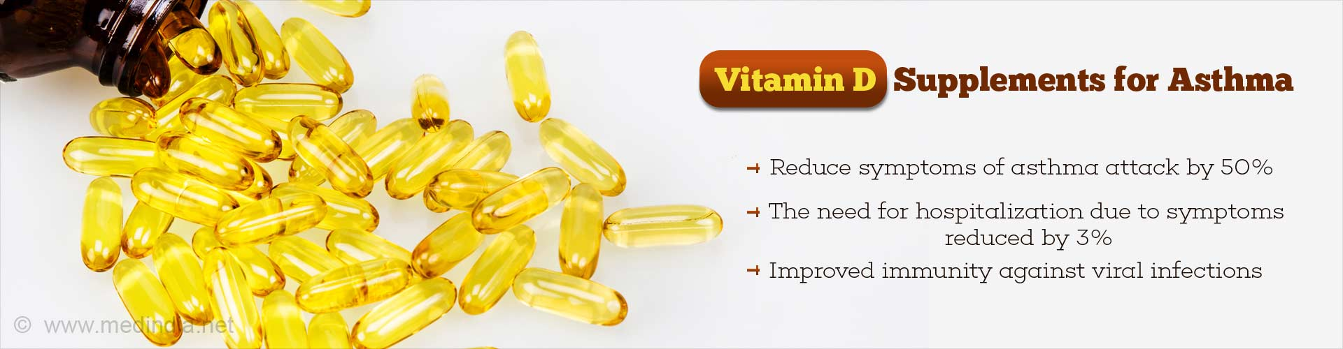 Vitamin D Pills Reduce Number of Asthma Attacks