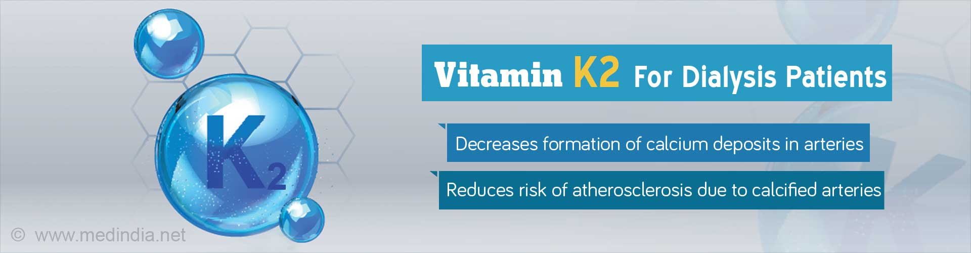 Vitamin K2 for Dialysis Patients
