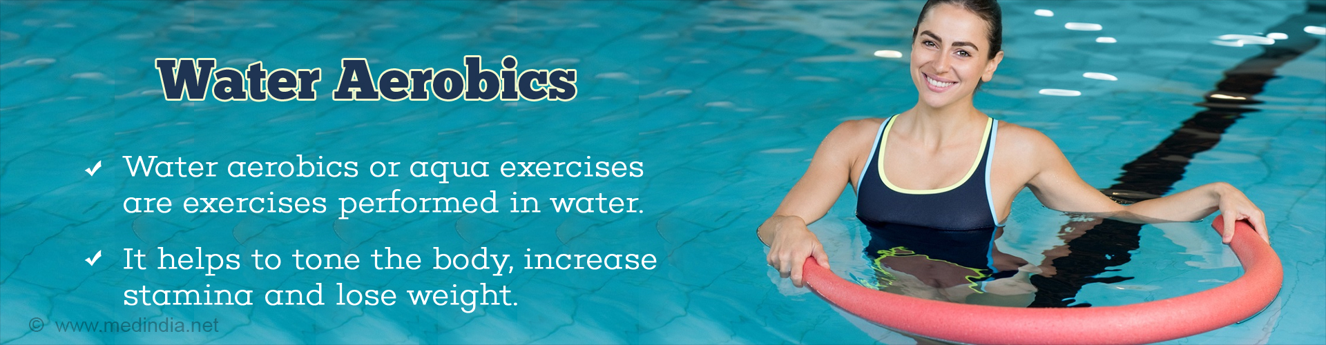 17cb968885b How to Shed the Extra Pounds with Water Aerobics