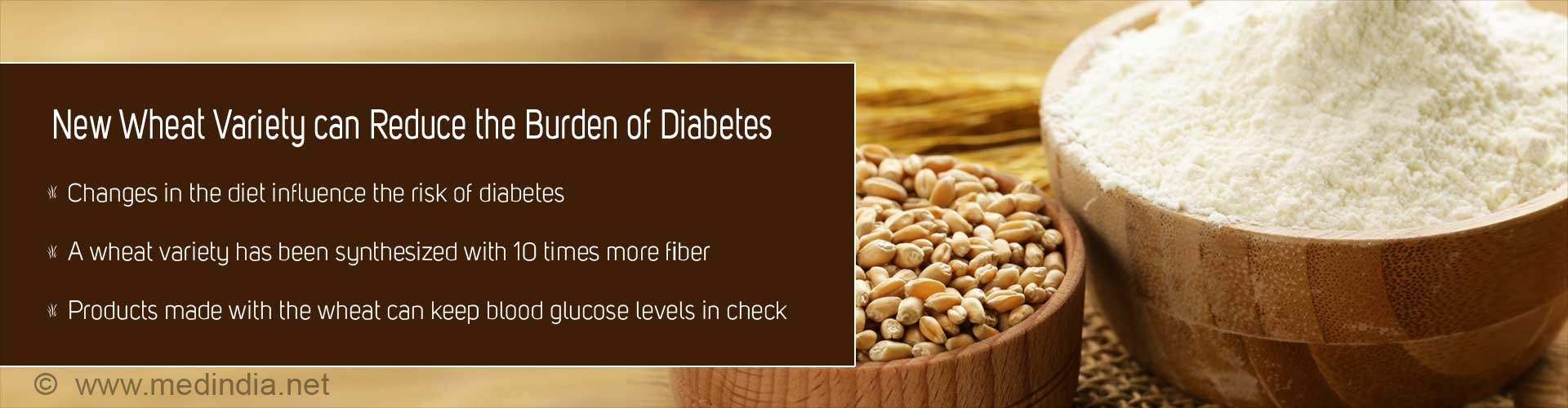 Wheat Variety With 10 Times More Fiber To Fight Diabetes, Bowel Cancer