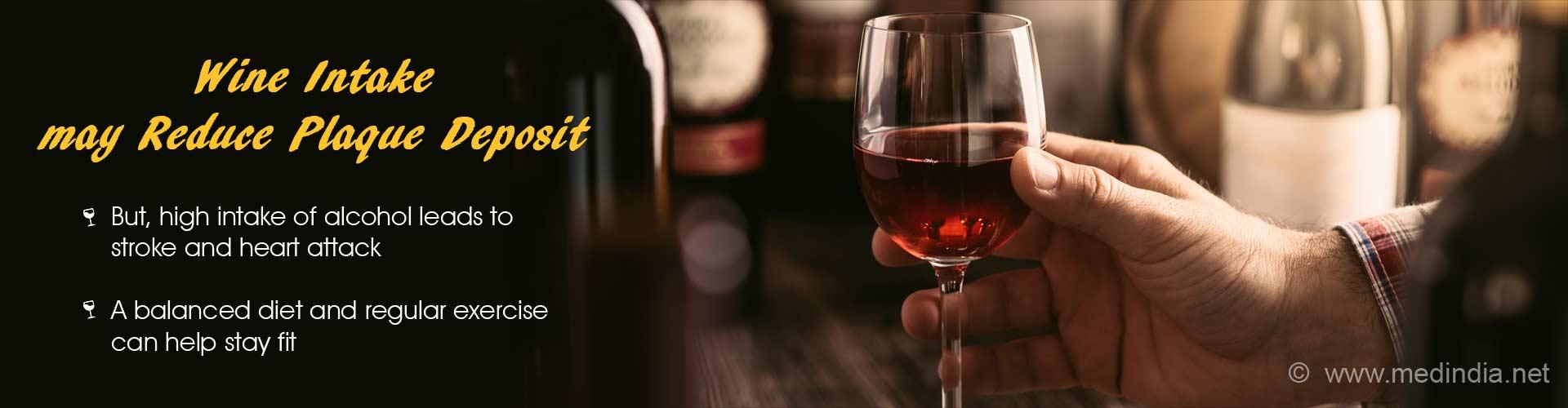 Wine may Reduce Plaque Build-up in Arteries of Diabetic Patients