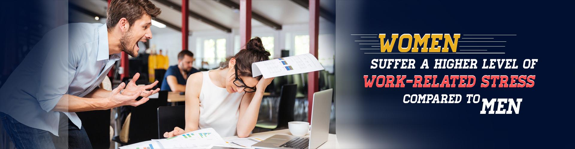Women Suffer More Work Stress Than Men