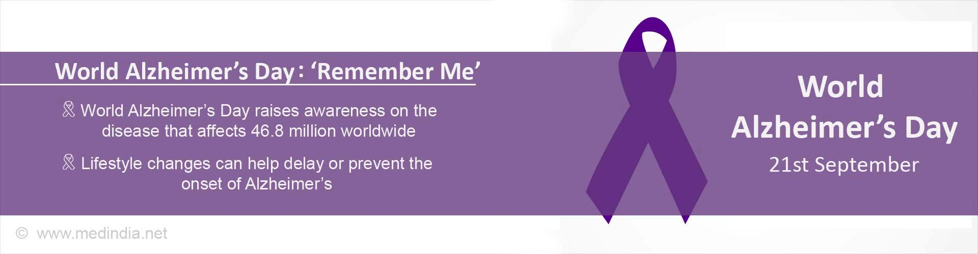 World Alzheimer's Day 2017: '˜Remember Me'
