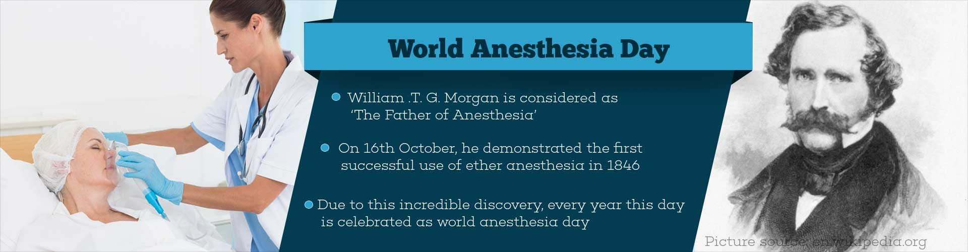 Celebrating Painless Surgery on World Anesthesia Day