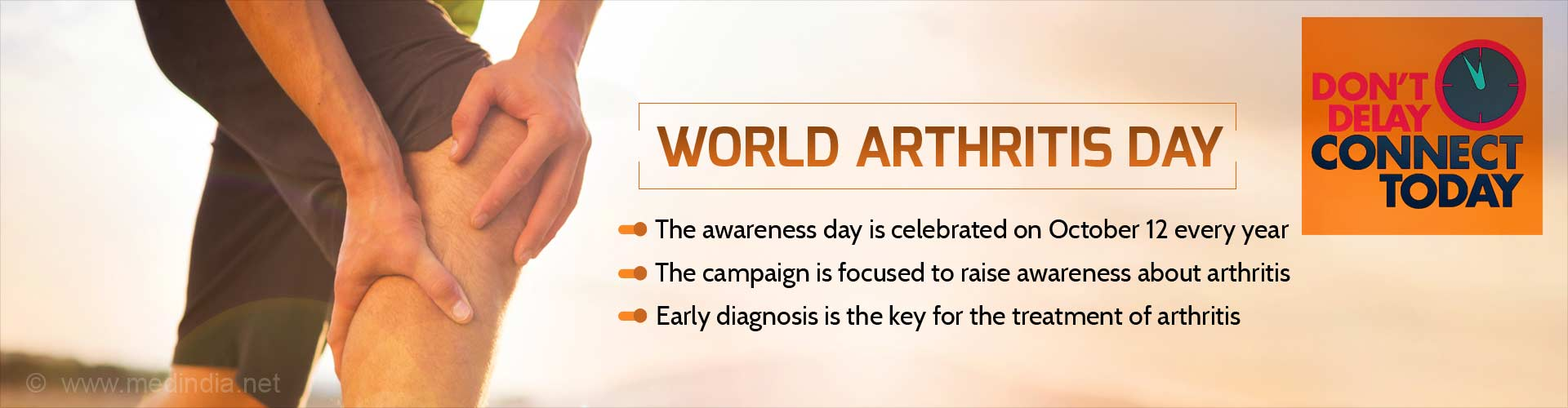 World Arthritis Day Dont Delay Stay Connected