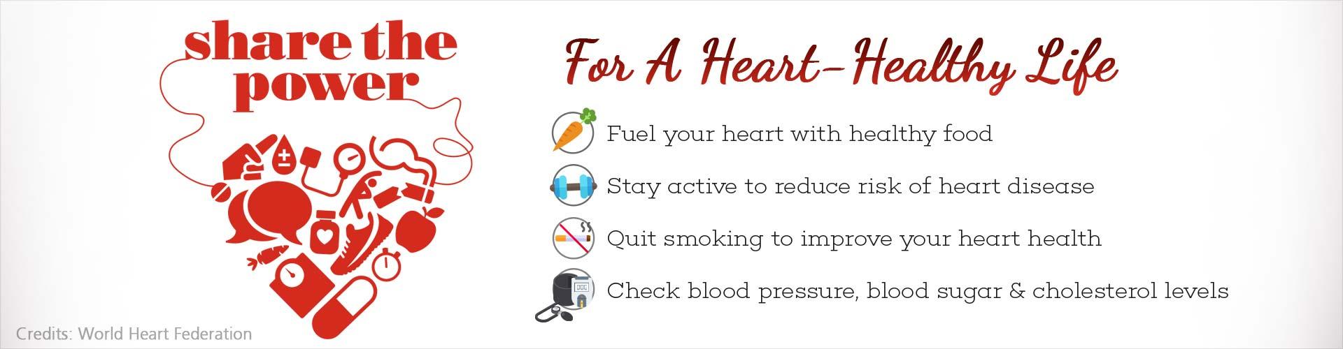 World Heart Day: Share the Power