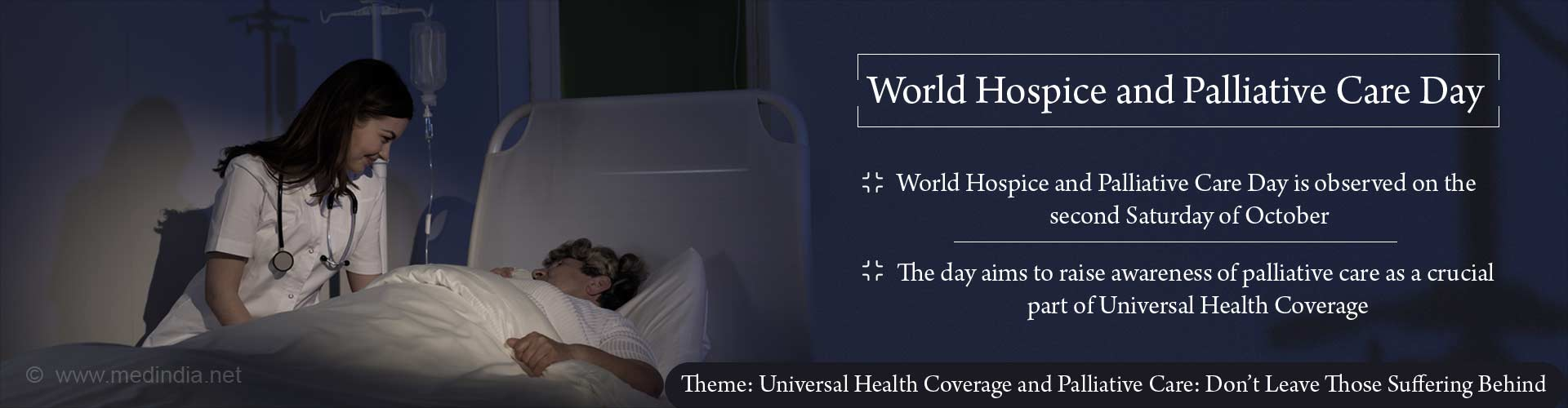 World Hospice and Palliative Care Day: Universal Health Coverage and Palliative Care