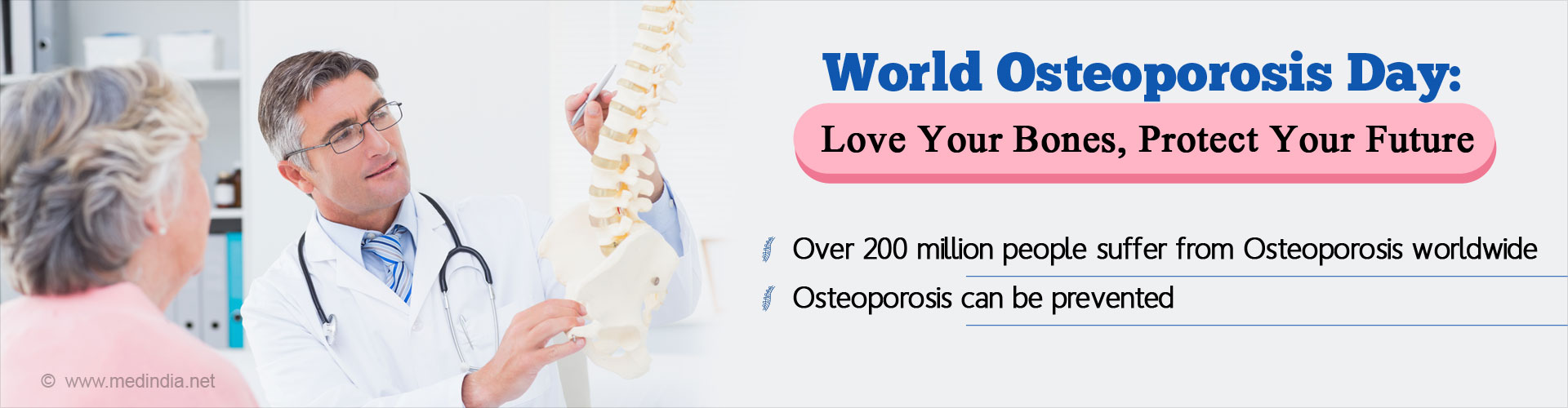 World Osteoporosis Day: Love Your Bones, Protect Your Future