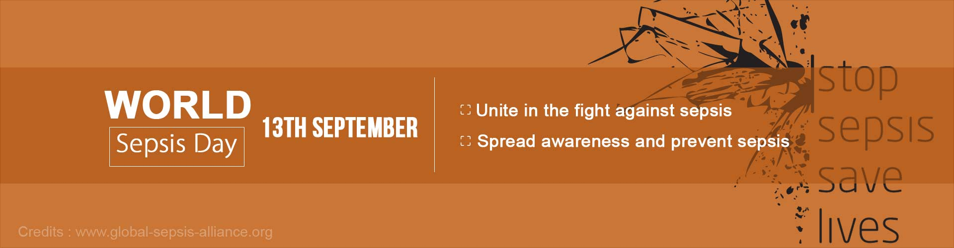 World sepsis day: 13th September
