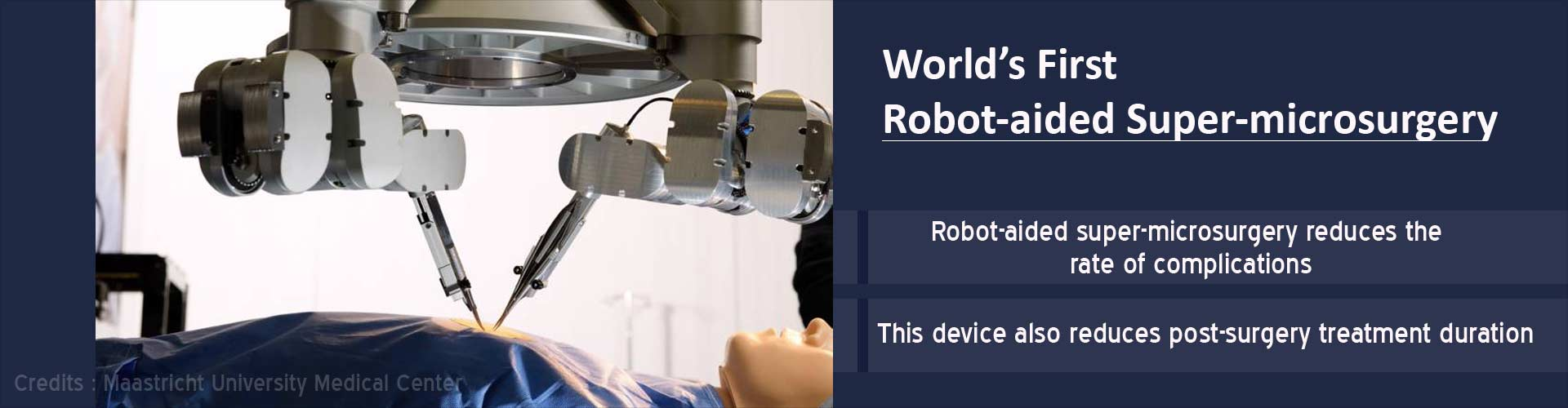 World''s First Robot Assisted Super-Microsurgery a Success