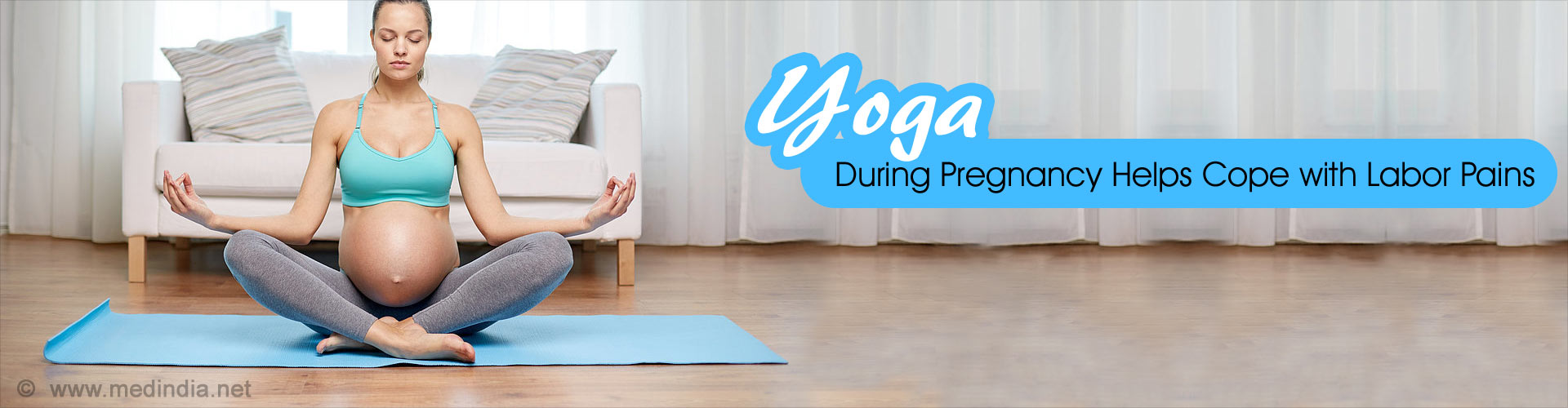 Yoga During Pregnancy Helps Cope with Labor Pain