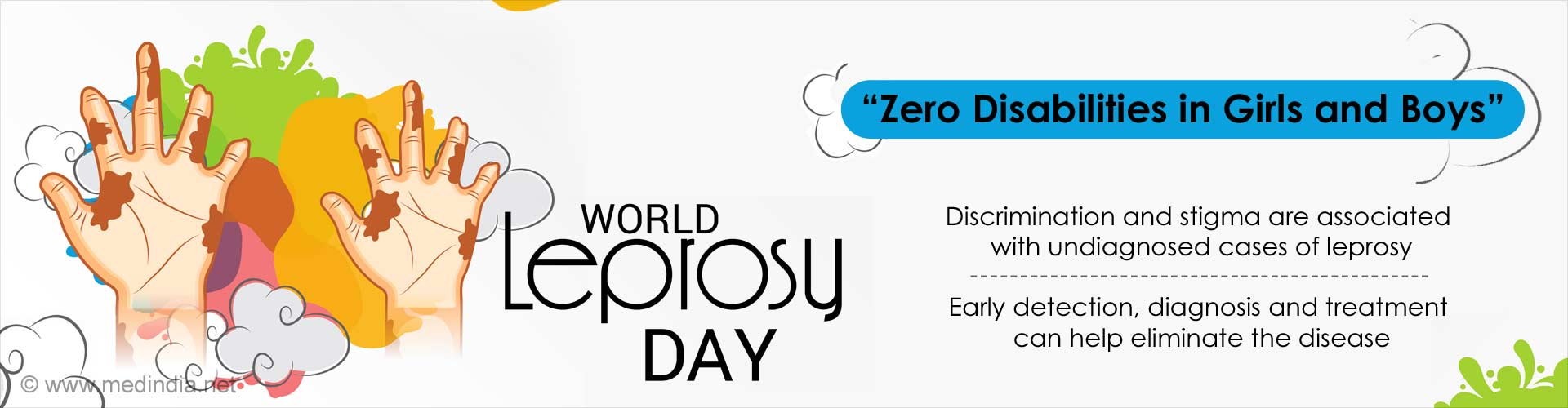 World Leprosy Day: Zero Disabilities in Girls and Boys