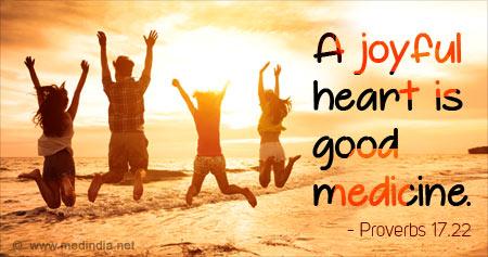 Quote on Keeping a Joyful Heart