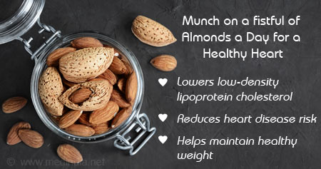 Health Tip on the Benefits of Consuming Almonds Regularly