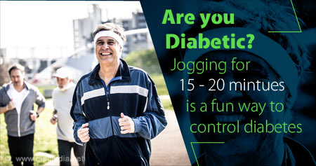 Health Tip to Control Diabetes