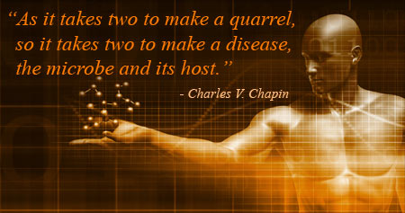 Interesting Health Quote on the Development of a Disease by Charles V. Chapin