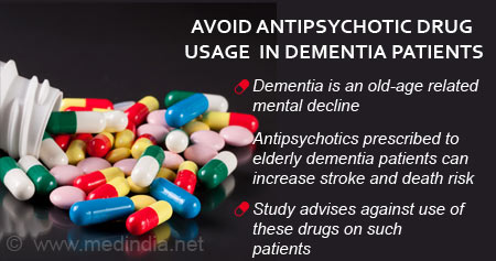 Health Tip on Effects of Antipsychotic Drugs in Dementia Patients