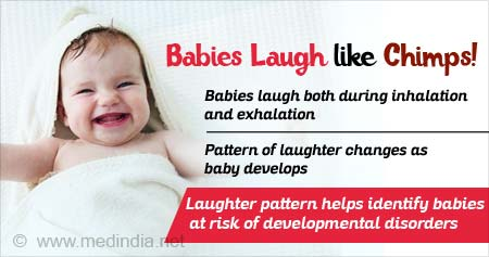 Young Babies Found to Laugh Similar to Chimps