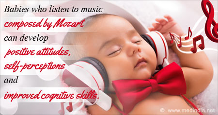 Health Tip on the Benefits of Mozart Music on Babies