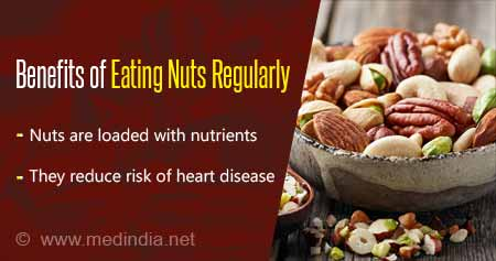 Eating Nuts Regularly Lowers Risk of Heart Disease