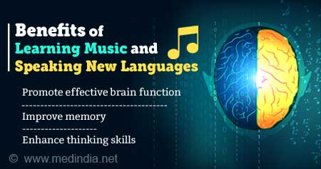 Health Tip on Benefits of Learning Music and Speaking New Languages