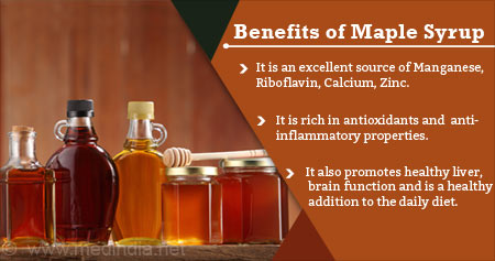 Health Tip on The Benefits of Maple Syrup