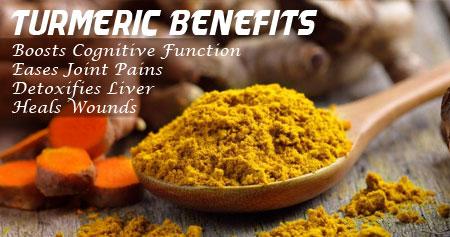 Amazing Health Benefits of Turmeric Powder