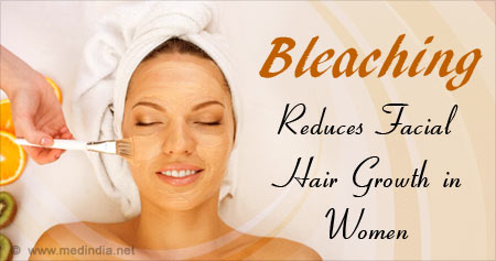 Bleaching products for facial hair