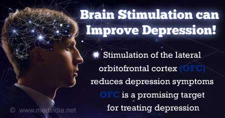 Depression Symptoms can be Relieved by Brain Stimulation