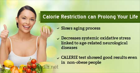 Health Tip on Calorie Restriction can Prevent Age-related Diseases