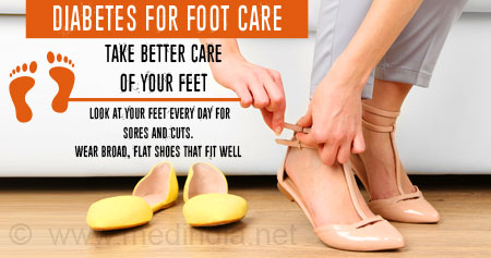 Health Tip on Diabetes Foot Care
