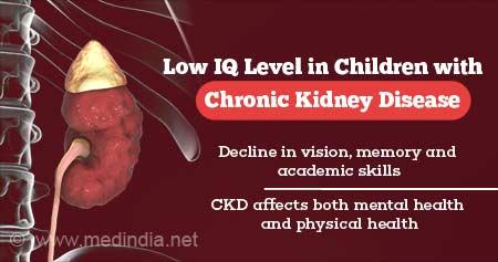 Chronic Kidney Disease Linked to Lower IQ Level in Children