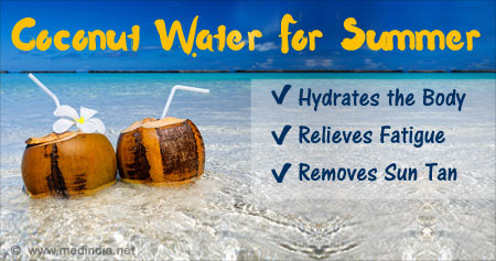 Incredible Health Benefits of Coconut Water