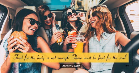 Quote on Consuming Healthy Food