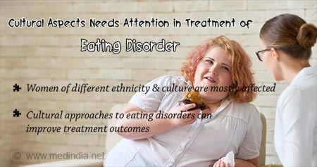 Health Tip on Eating Disorder Treatment may Rely on Cultural Aspects