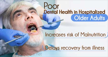 Health Tip on Effects of Poor Dental Health in Hospitalized Older Adults