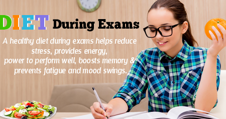Health Tip on the Best Diet During Exams