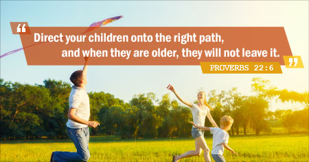 Useful Quote from the Book of Proverbs on Raising Children