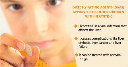 Drugs for Children Affected with Hepatitis C