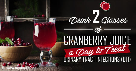 Health Tip to Treat Urinary Tract Infections (UTI)