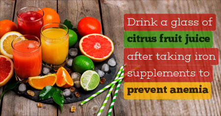 Amazing Health Tip To Prevent Anemia