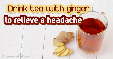 Health Tip to Relieve a Headache